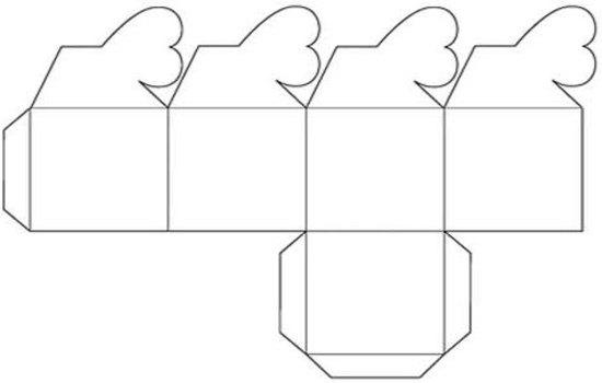 Подарочные коробки своими руками: шаблоны