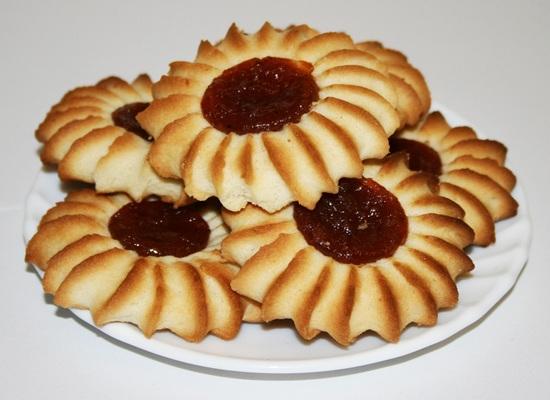 «Венское печенье» песочное печенье с вареньем