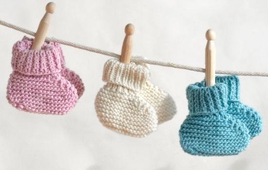Схемы для вязания спицами для новорожденных