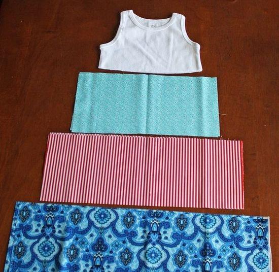 Как сшить платье своими руками быстро и без выкройки с воланами