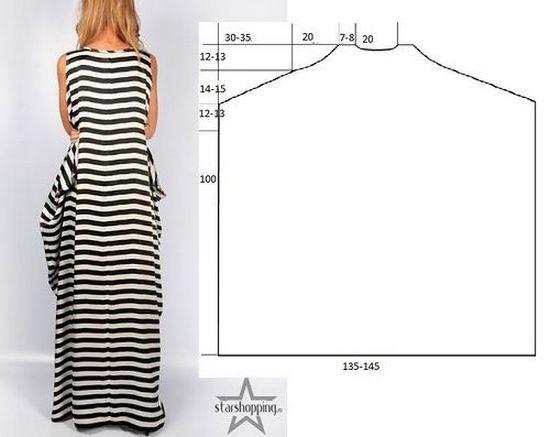 Как сшить платье своими руками быстро и без выкройки