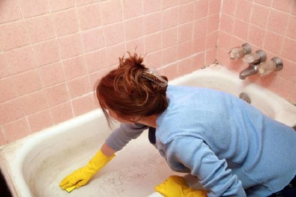 Черная плесень в акриловой ванной как бороться своими руками 8