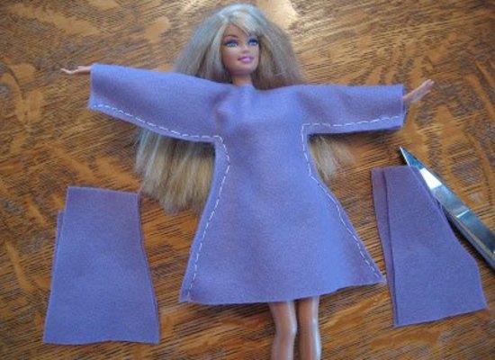 Платье для куклы: как сшить