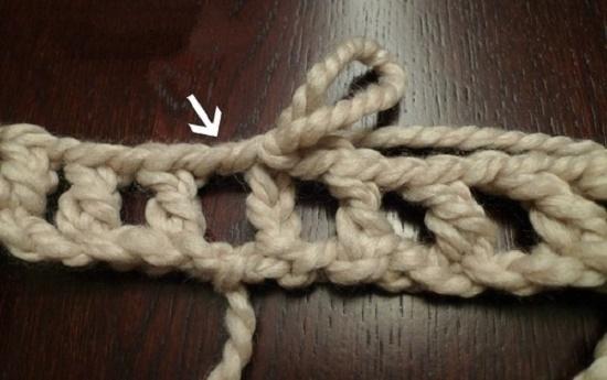 Как связать снуд-хомут (круговой шарф) крючком?