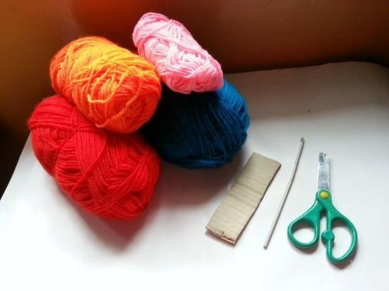 Как связать шарф крючком для начинающих: материалы