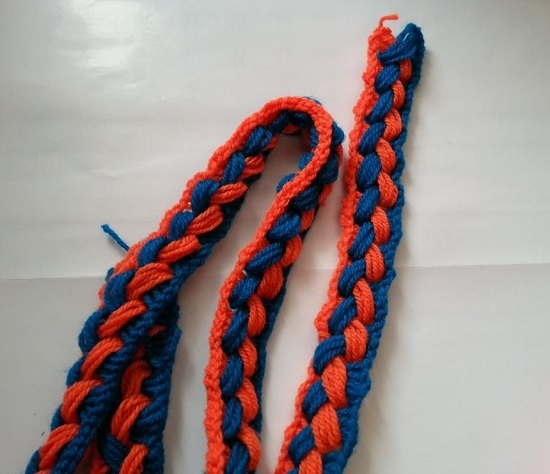 Вязание необычного шарфа