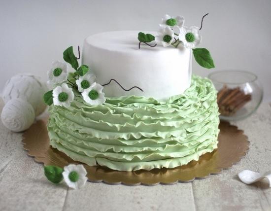 голубая глазурь для торта рецепт с фото