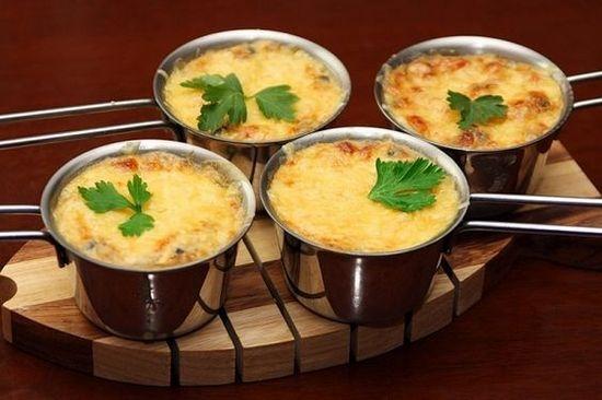 рецепт жюльена грибы и курица в духовке пошаговый рецепт с фото