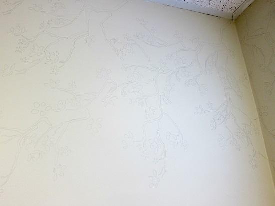 Роспись стен акриловыми красками: мастер-класс