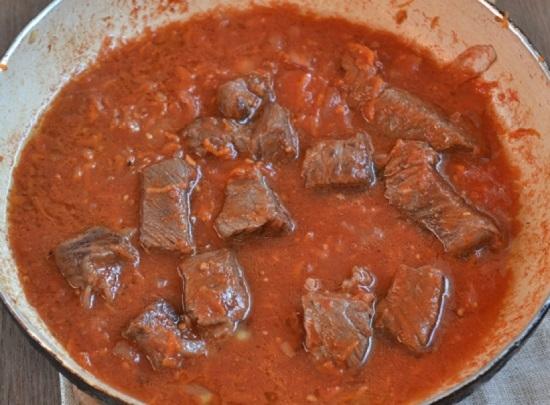Рецепт свинины с подливкой с фото пошагово