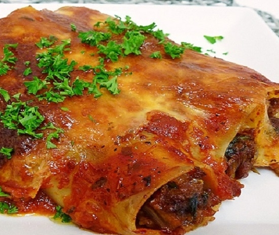 Каннеллони - вкусный рецепт с пошаговым фото 80