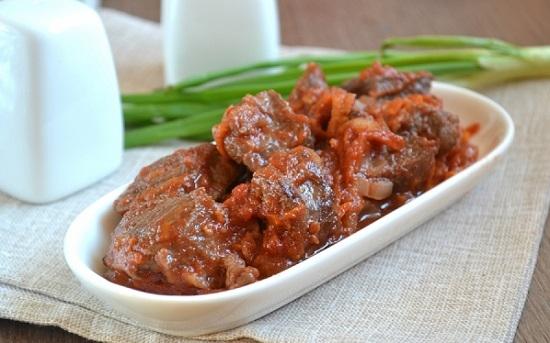 """Мясо с подливой """"Столовые СССР"""" – кулинарный рецепт"""