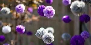 Лианы цветы из подручных материалов