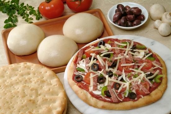 Классический итальянский рецепт теста для пиццы