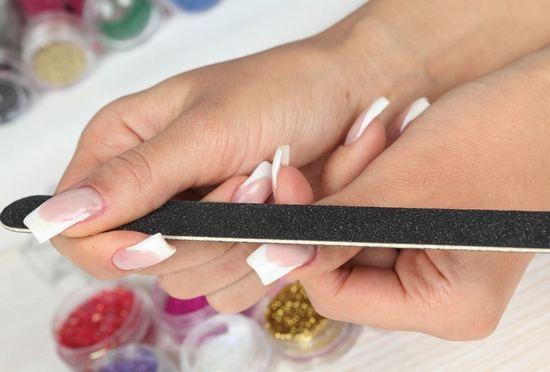 как снять нарощенные ногти в домашних