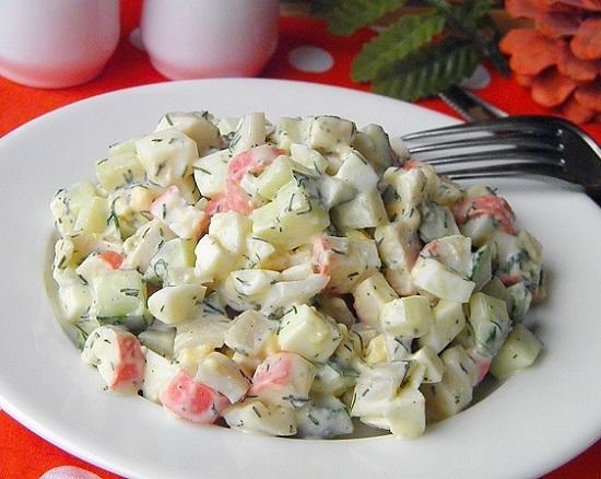 Изысканный салат «Морской бриз»