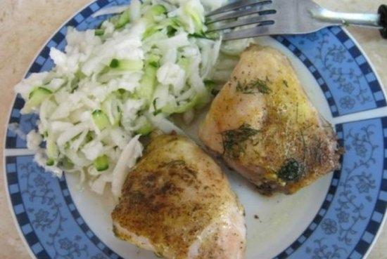 рецепт запечь курицу с хрустящей корочкой