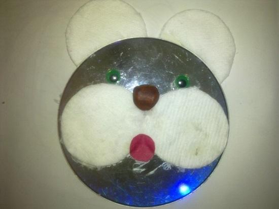 Тигренок из дисков