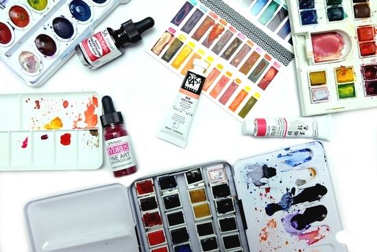 Типы красок