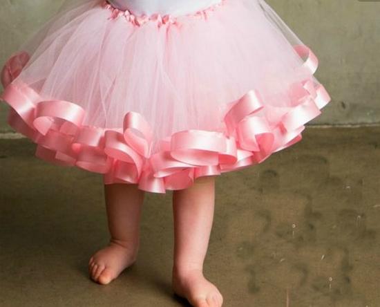 Юбки из фатина для девочек: фото