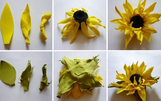 Крупные цветы из фоамирана: мастер-класс, выкройки
