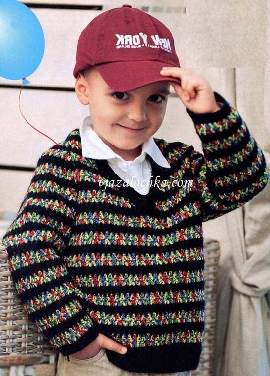 Джемпер для мальчика 4 лет