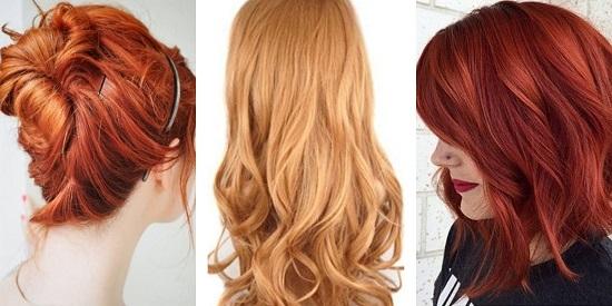 Оттенки рыжего цвета волос кому