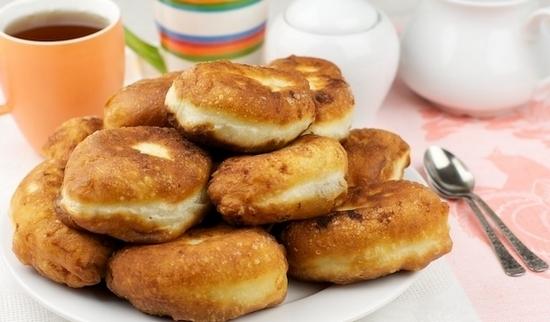 Жареные пирожки на кефире из воздушного теста