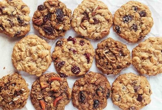 Печенье из овсяной каши быстрого приготовления