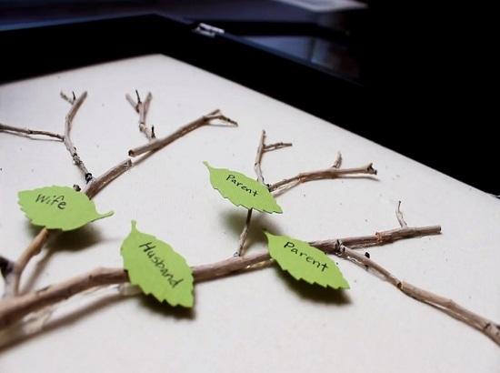 Семейное древо своими руками: мастер- класс