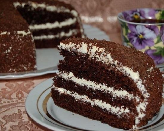 рецепт торта черный принц медоборы
