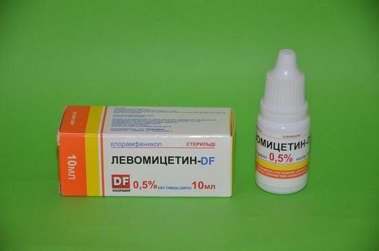 капли для глаз левомицетин инструкция по применению для детей