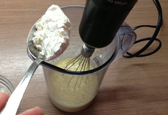 Венские вафли - приготовление теста
