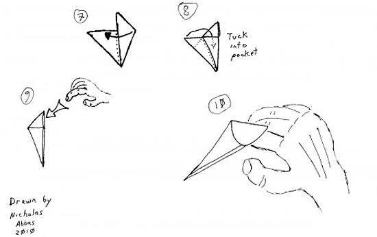 Как сделать когти из бумаги в картинках