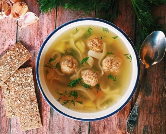 суп с фрикадельками и вермишелью в мультиварке пошаговый рецепт с фото