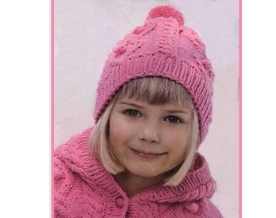 Как связать чудесную шапочку для девочки?