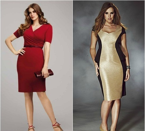 Модели платьев чтобы скрыть живот женщин