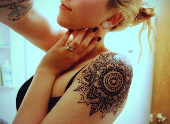 Как сделать временное тату в домашних условиях?