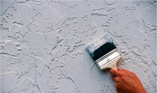 Декоративная штукатурка стен своими руками из обычной шпаклевки
