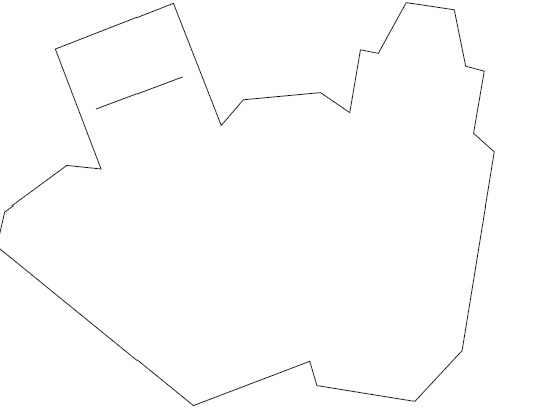 Скачиваем, распечатываем и вырезаем по контуру предложенный для коробочки шаблон