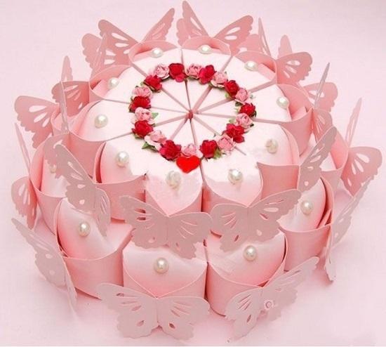 Торт из бумаги с пожеланиями – особенный подарок. Как сделать его своими руками?