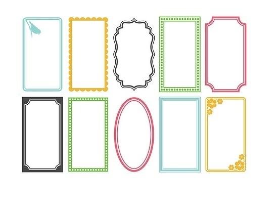 Теперь скачиваем следующую картинку, распечатываем и вырезаем несколько шаблонов для пожеланий