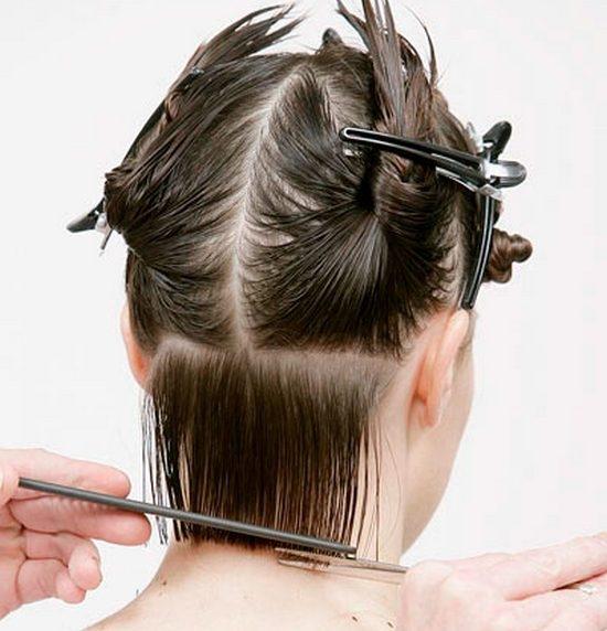 Как сделать линию волос 186