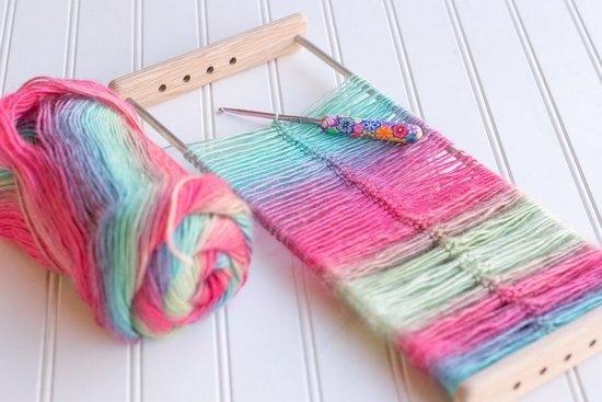 вязание на вилке мастер класс для начинающих Ls
