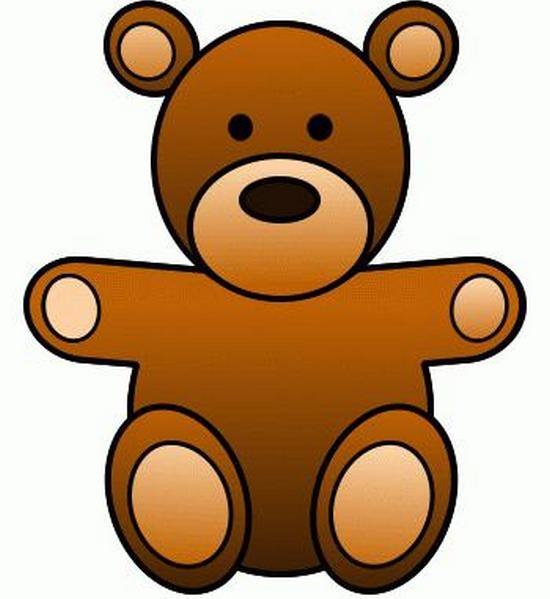 Как карандашом нарисовать медведя?
