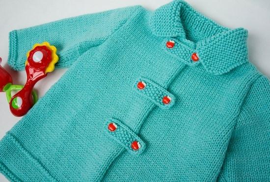 Вязанные спицами кофты для девочек разного возраста: описания и схемы