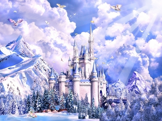 Крепость Снежной Королевы