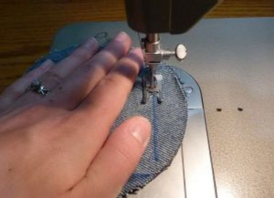 f245bf67283f7f684b282a0b4b9beb9c Покрывало из старых джинсов своими руками