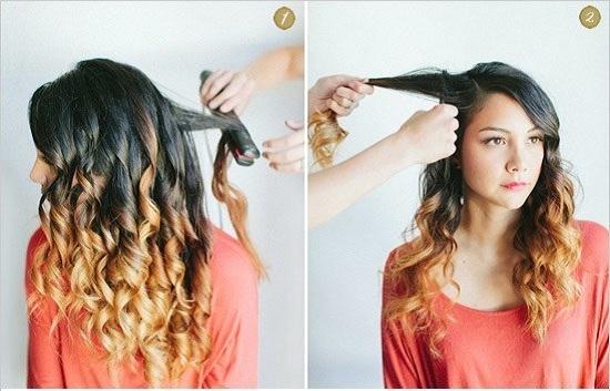 Прическа кудри на выпускной бал для длинных волос