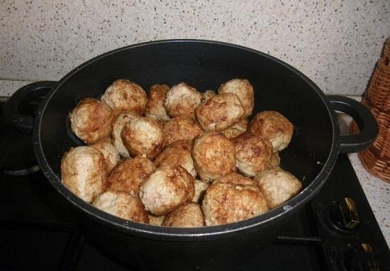 Тефтели или котлеты рецепт с пошагово в